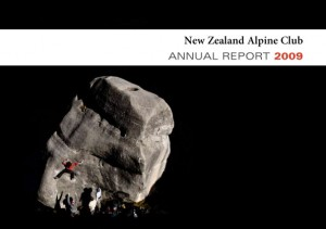 The New Zealand Alpine Club's annual report, 2009